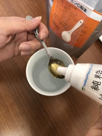 健康カラダ☆ ビタミンC粉末とVMパウダーの美味しい取説(笑)